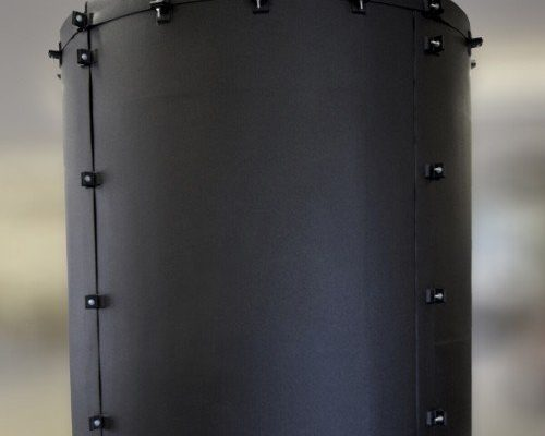 Dragon Jacket Tank Insulation Installed